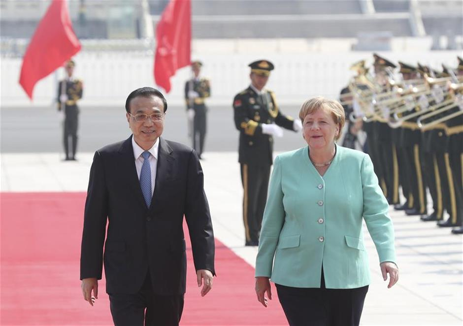 Premier Li encourages China, Germany to enhance cooperation, safeguard multilateralism