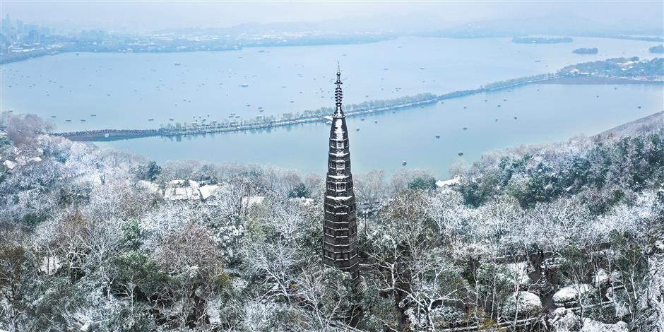 Yangtze River Delta in sharp focus
