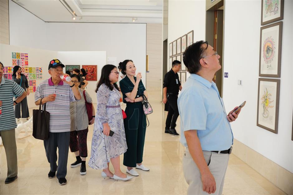 Exhibition showcases young artists with disabilities
