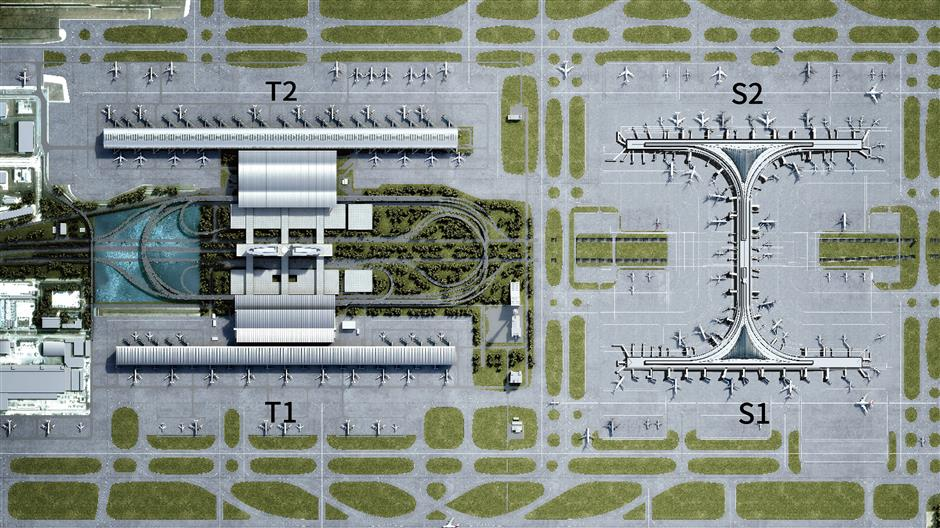 World's largest satellite terminal to open at Pudong airport next week