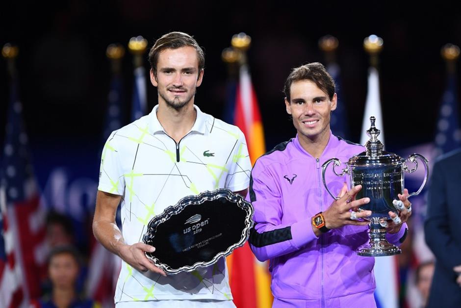 9 Slams: Nadal stops Medvedev comeback bid to win US Open