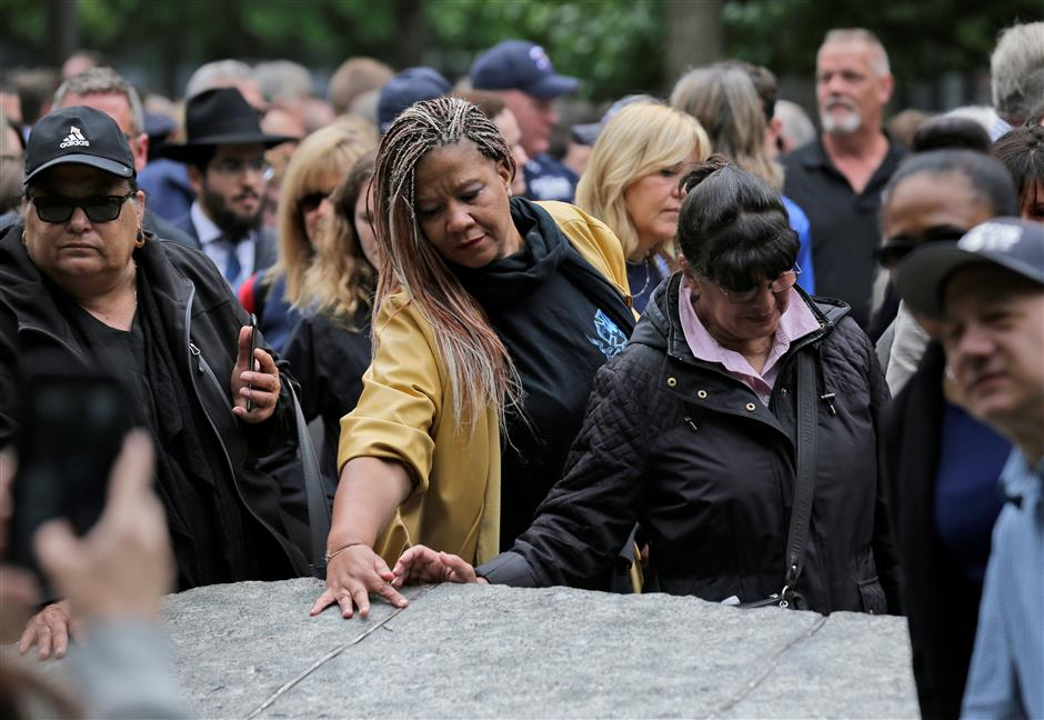 At 9/11 memorial, new recognition for a longer-term toll