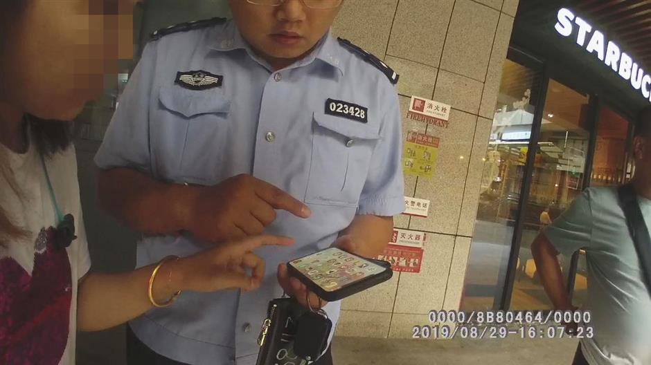 Police stop woman from being conned over phone