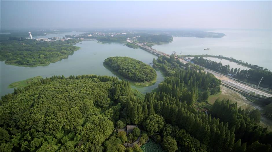 Drone reveals the wonder of Qingpu