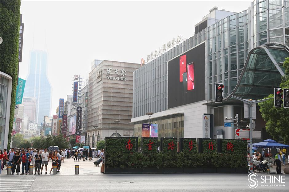 Shanghai's iconic Nanjing Road Pedestrian Mall to be extended