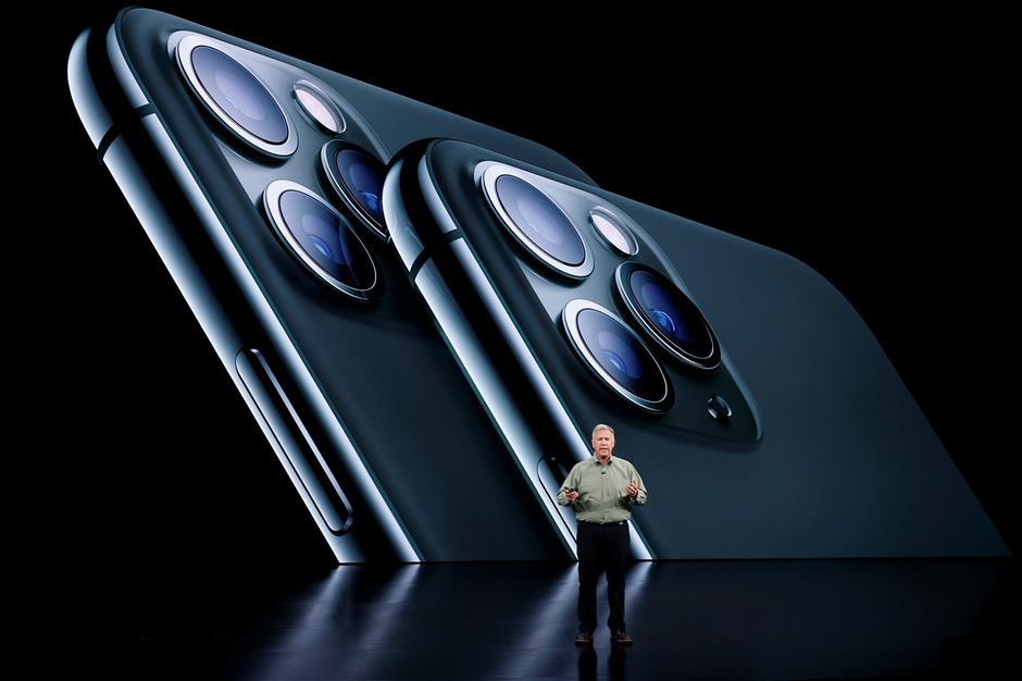 Apple reveals triple-camera iPhone; US$5 monthly streaming TV undercuts Disney