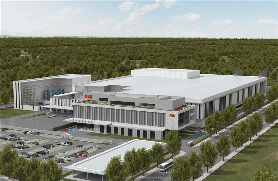 ABB starts building Shanghai robotics plant