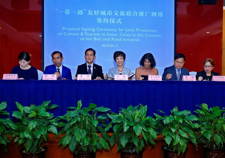Shanghai joins Belt and Road cities on tourism and cultural promotion