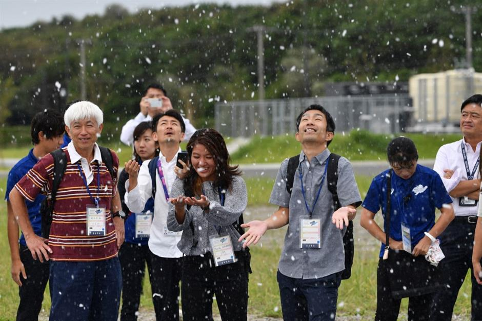 Cold comfort: Tokyo 2020 tests fake snow to beat the heat