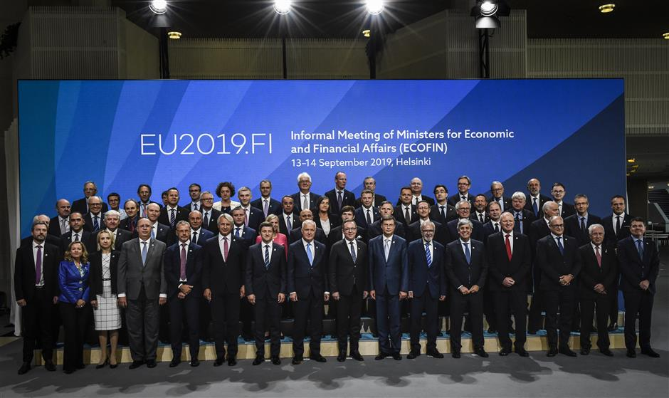 Climate change, hybrid threats, recovery measures discussed by EU finance ministers