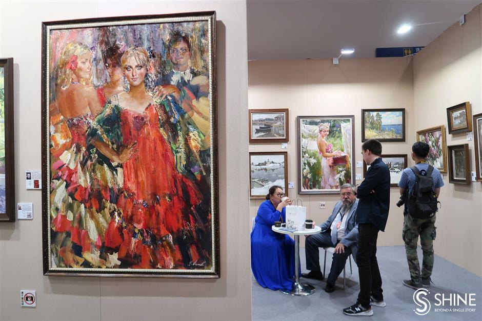 Big-name artists in the frame at Shanghai Art Fair