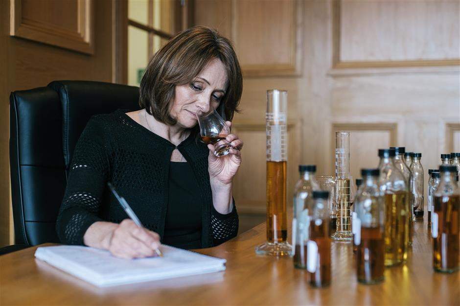 One woman's journey in whisky