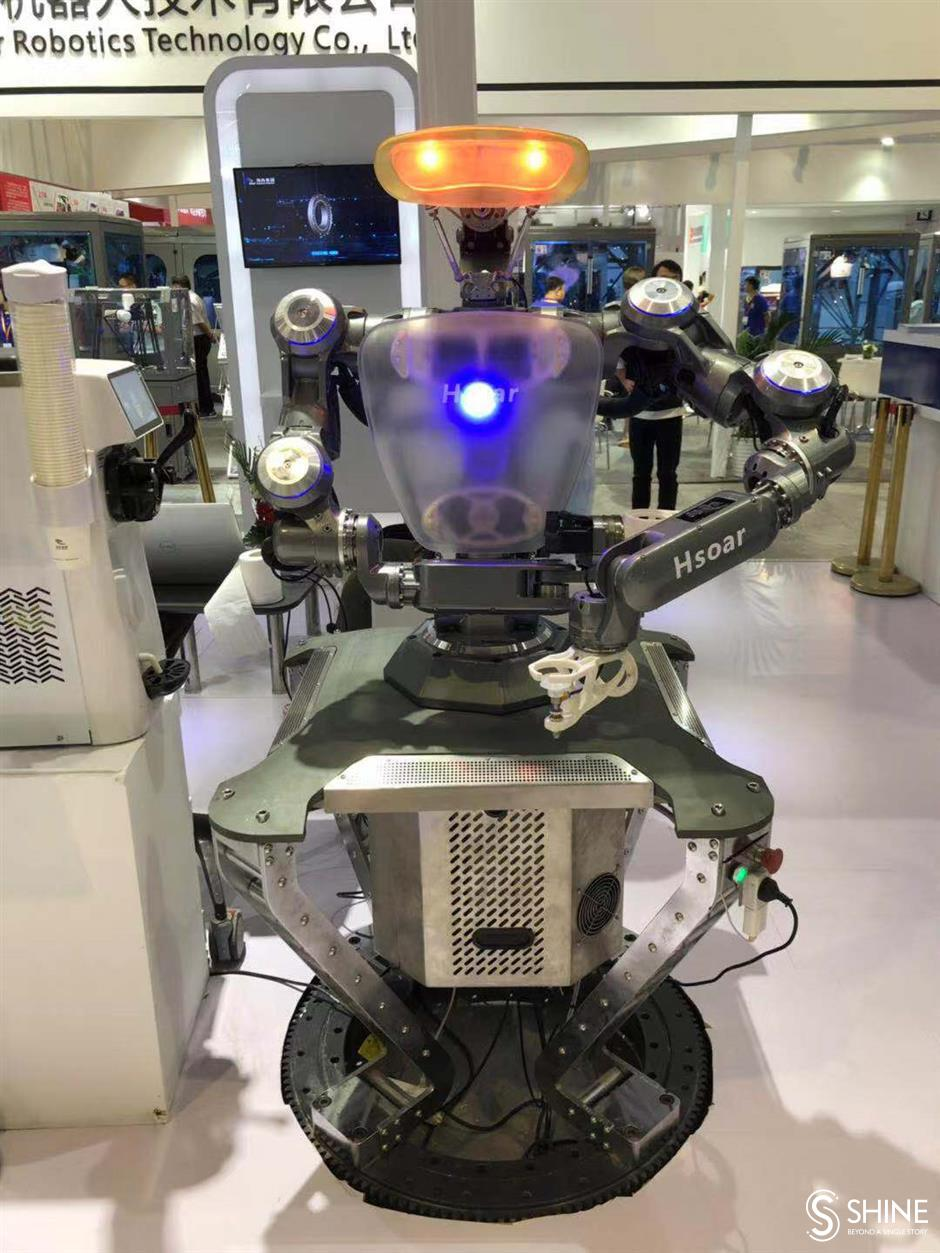 Robots designed with Chinese market in mind