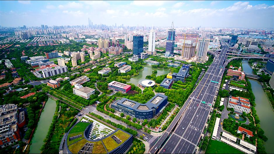 Focus on the Pudong New Area