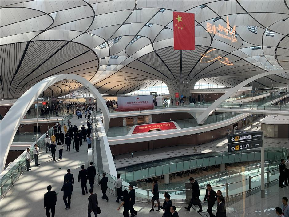 Beijing's newest airport opens door to the world