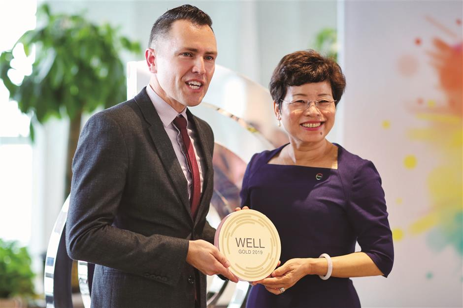 Covestro's new Shanghai office – A WELL Certified™ Gold Office