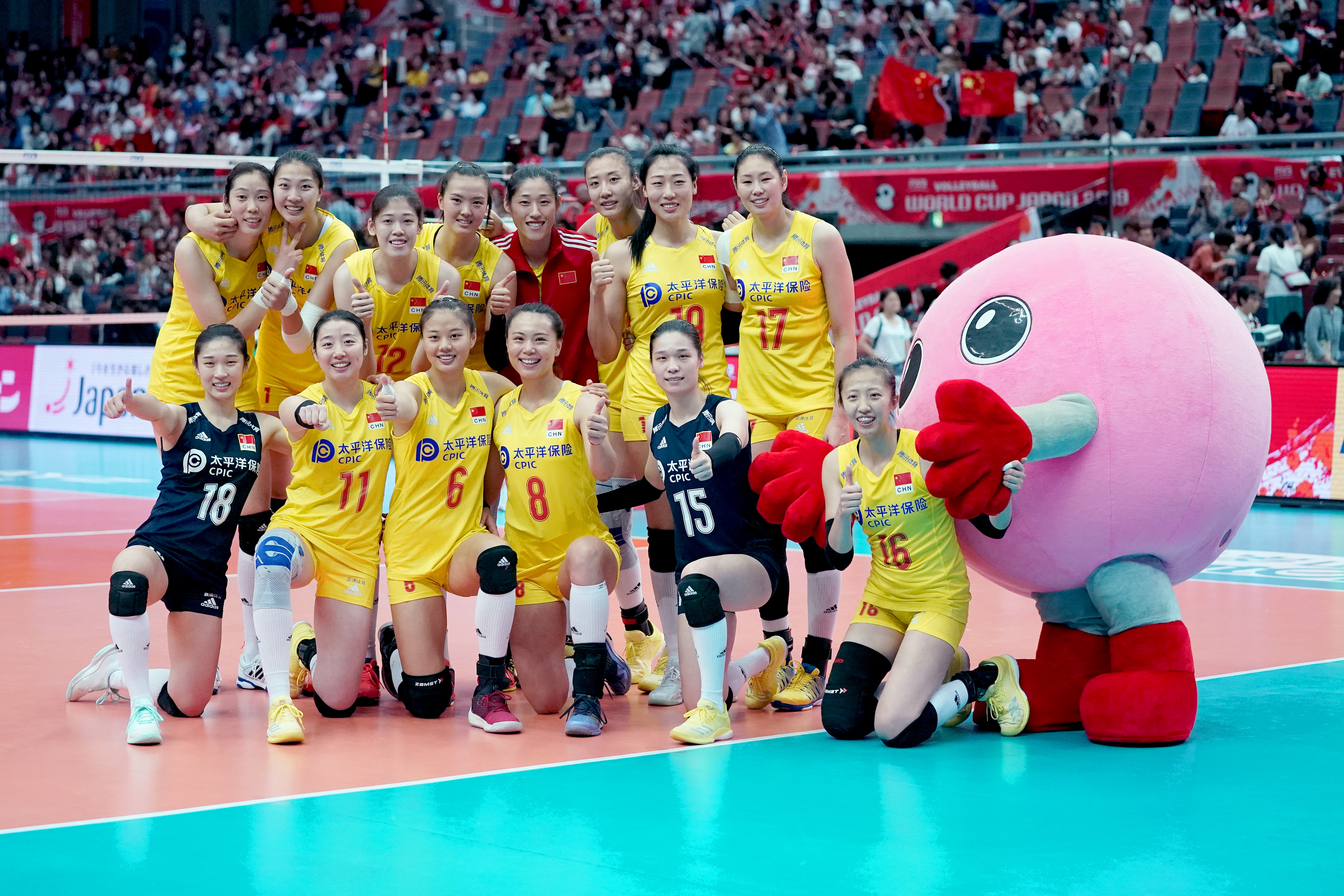 China Win Women S Volleyball World Cup Title With Perfect 10 Straight Victories Shine News