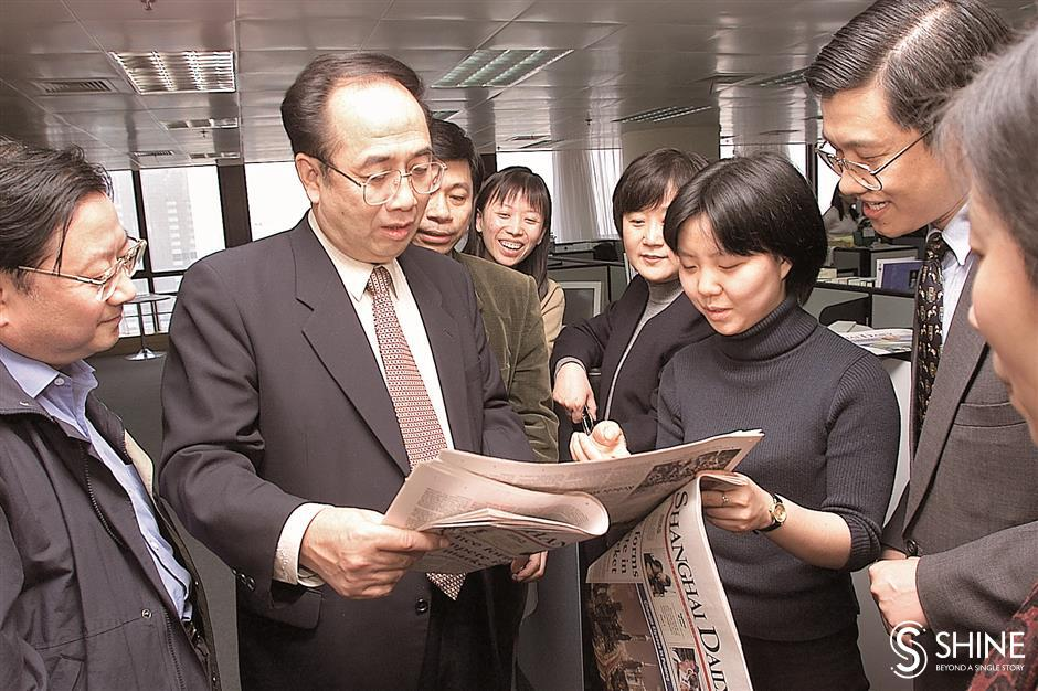 Mr Pudong turned farms to skyscrapers,  dialogue to friendship