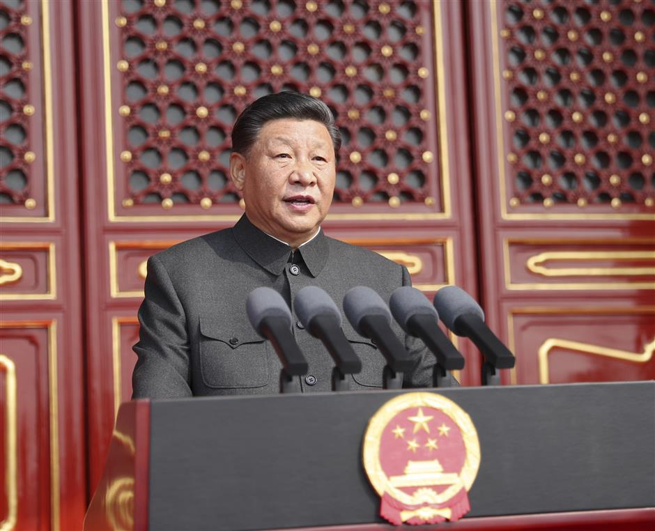 Xi says no force can ever undermine China's status