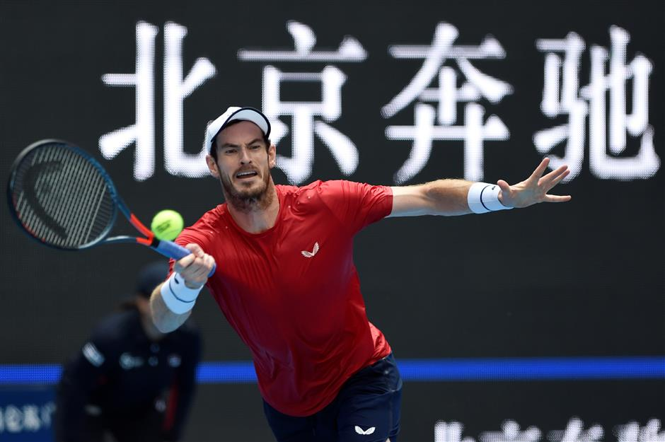 Murray reaches Beijing quarters – and celebrates with a snooze
