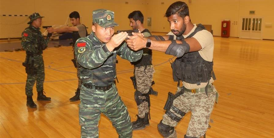 Chinese Kung Fu opens new chapter for China-Kuwait military exchanges