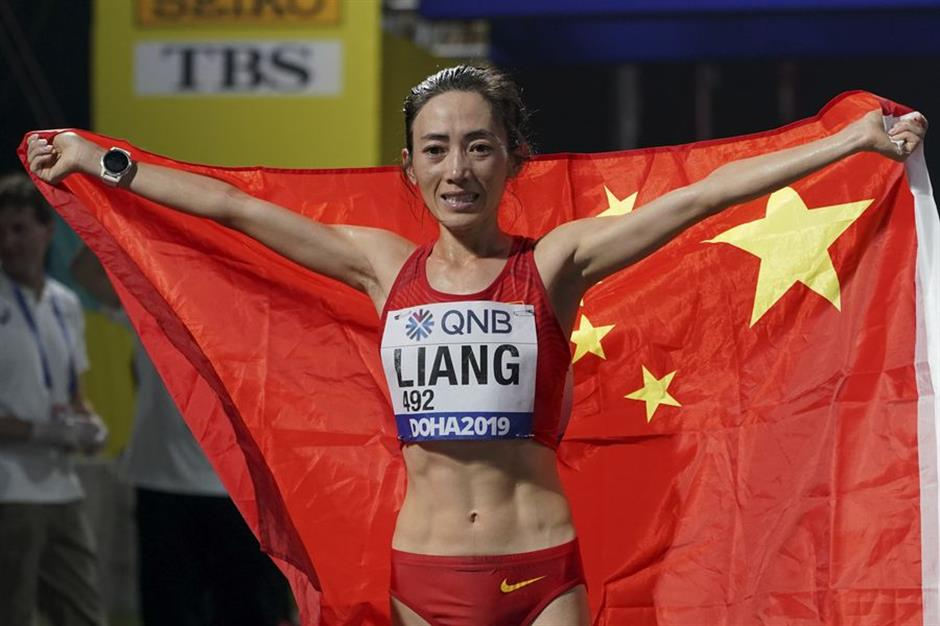 China achieves best world championships results in 20 years