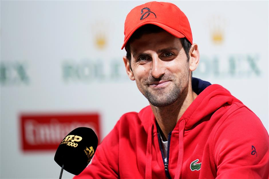 Djokovic heaps praise on 'very complete' Medvedev
