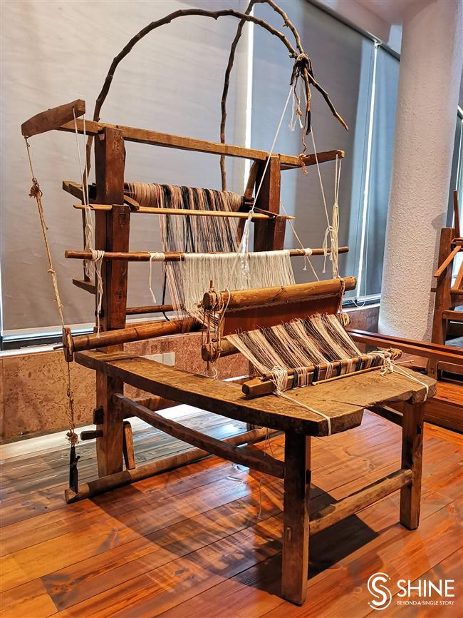 Weaving a thread through time and history