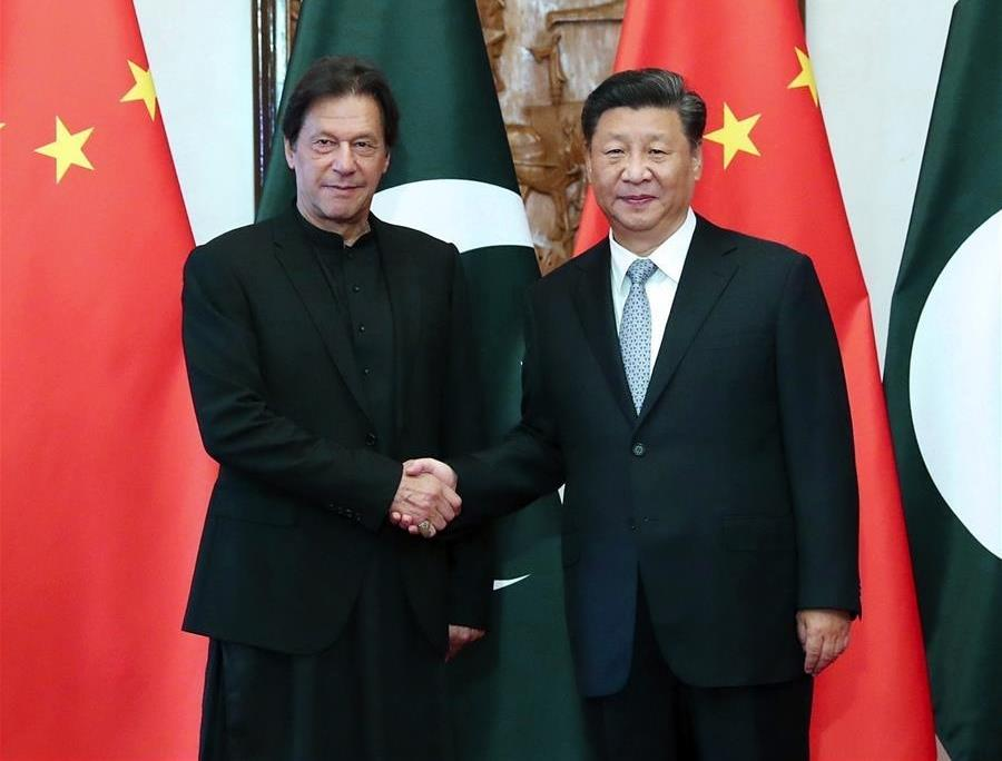 Xi meets Pakistani PM, calls for forging closer community of shared future