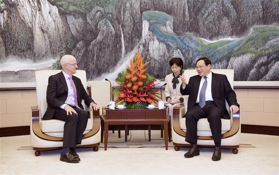 Party Secretary Li meets NY University chief