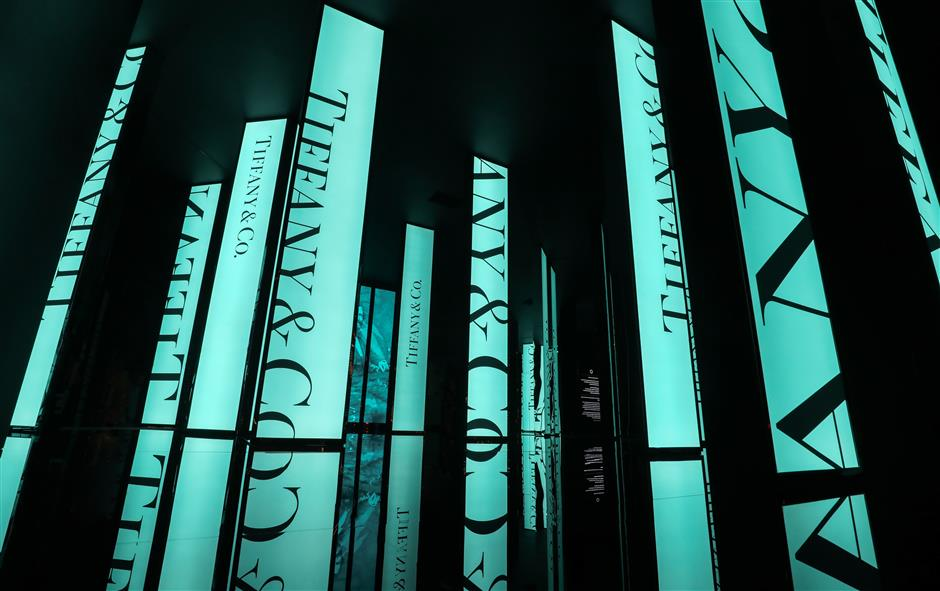 Tiffany & Co stages its largest exhibition ever in Shanghai