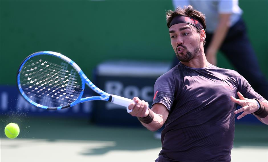 Fognini says Murray just like him 'because he complains'