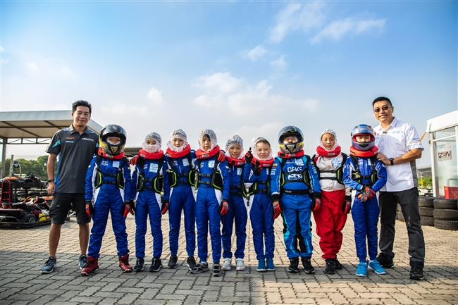 Karting courses for primary students