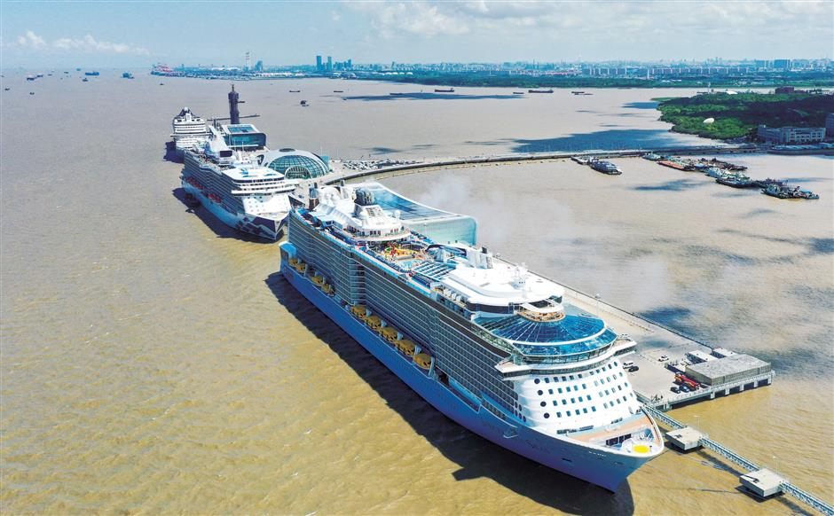 Cruise liner industry transforming Baoshan economy