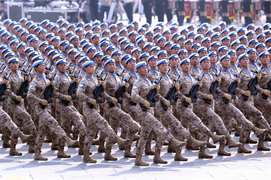 China's military parade a sight to behold: What's there to fear?