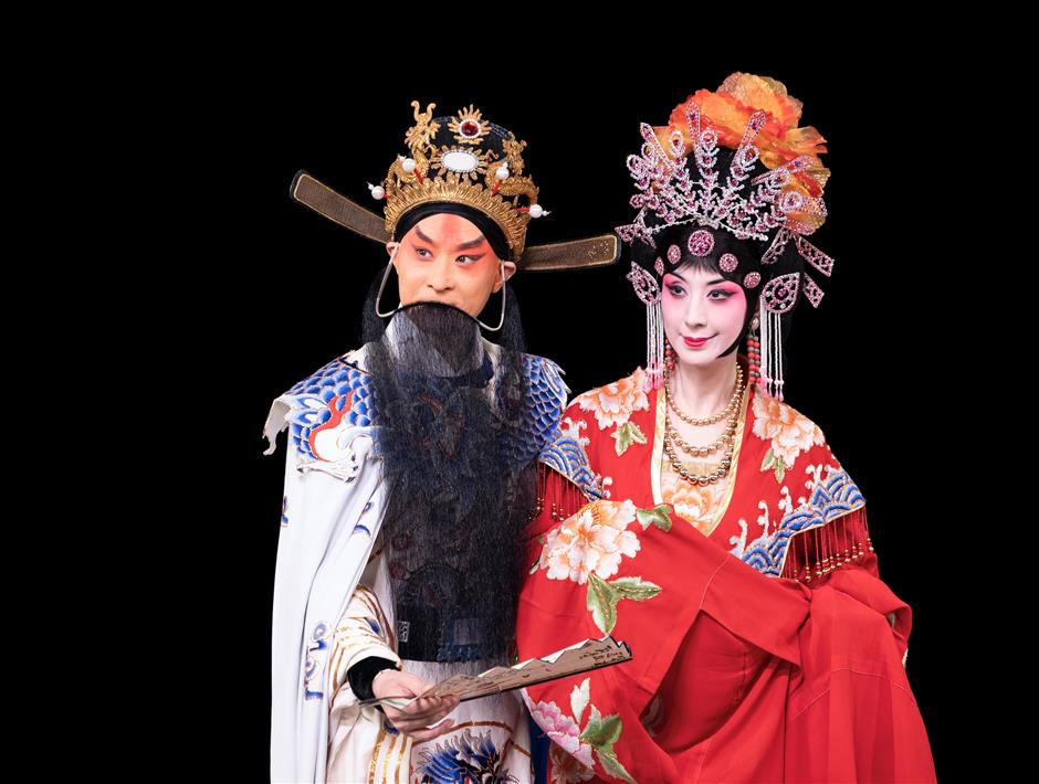 Peking Opera tragic tale gets multimedia makeover