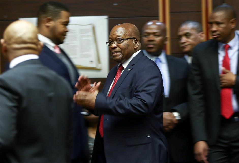 S. African court denies Zuma's application for permanent stay of prosecution