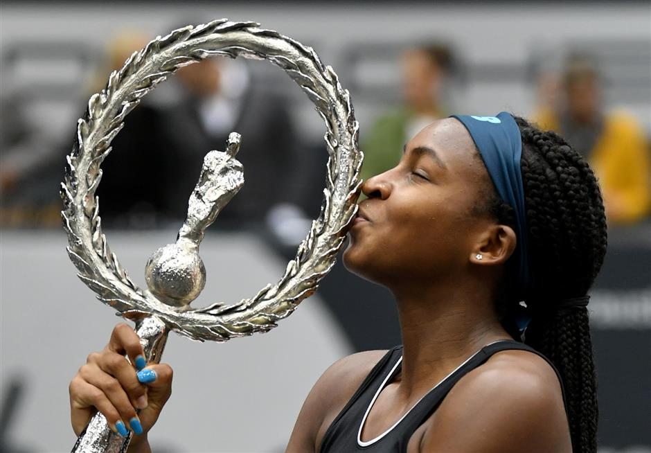 Roger Federer gave me perspective, says teen sensation Coco Gauff