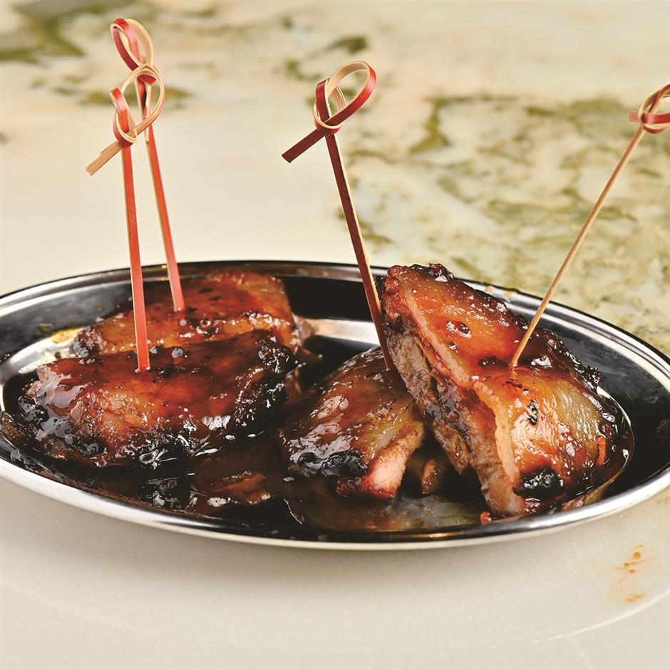 Cantonese barbecued meats simply scrumptious