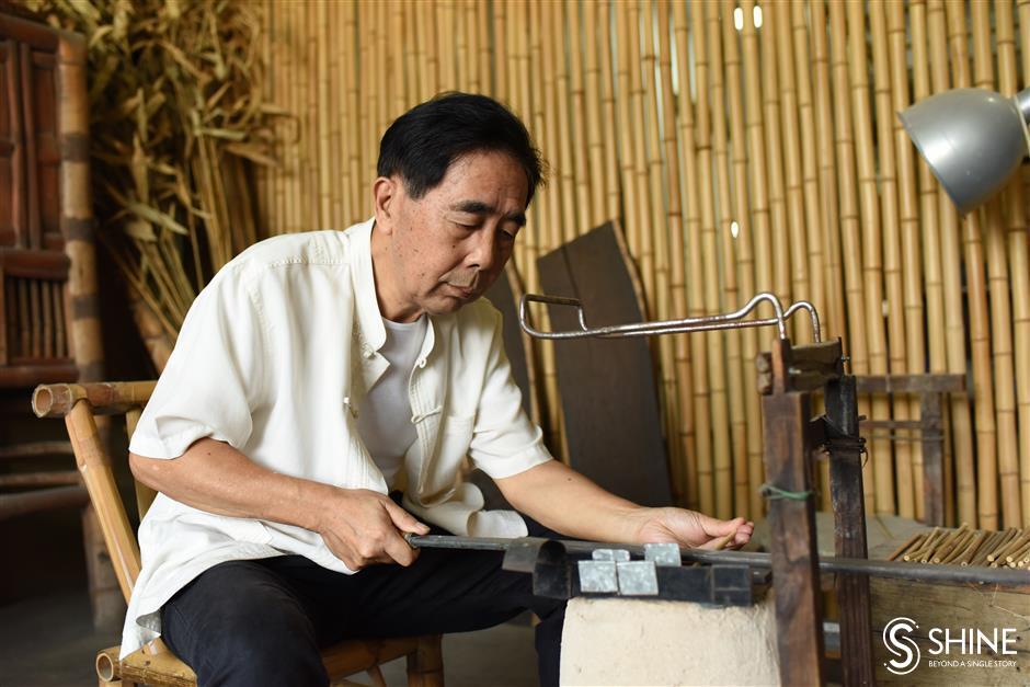 Tianzhu chopsticks make comeback