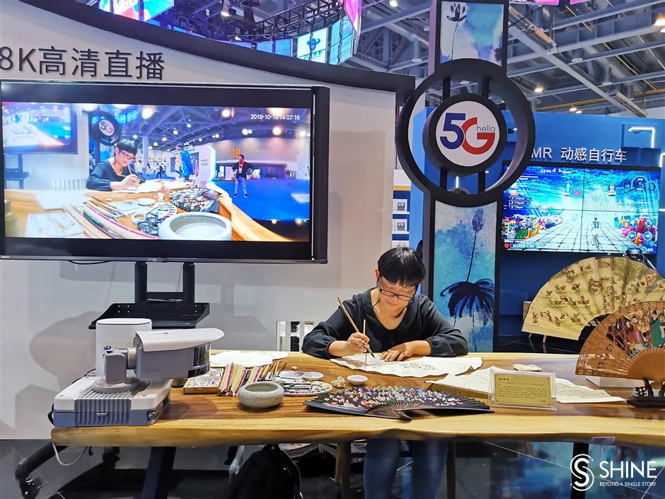Hangzhou expo highlights tradition and cutting-edge technology