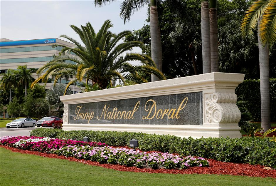 Trump laments G-7 move from his Doral resort after bipartisan pushback