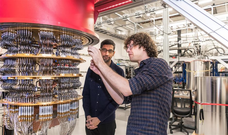 Google says success in  'quantum computing'