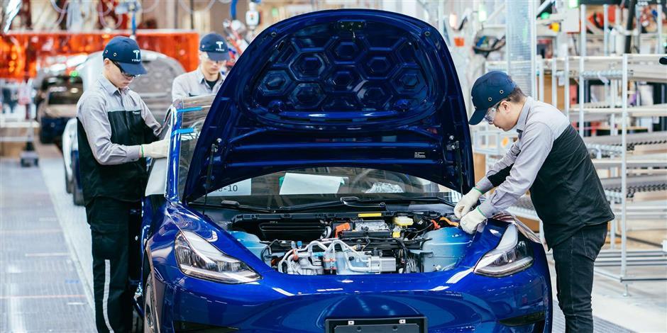 Tesla says Shanghai plant ready for production