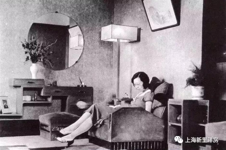 Celebrated author's harmonious relationship with Art Deco building