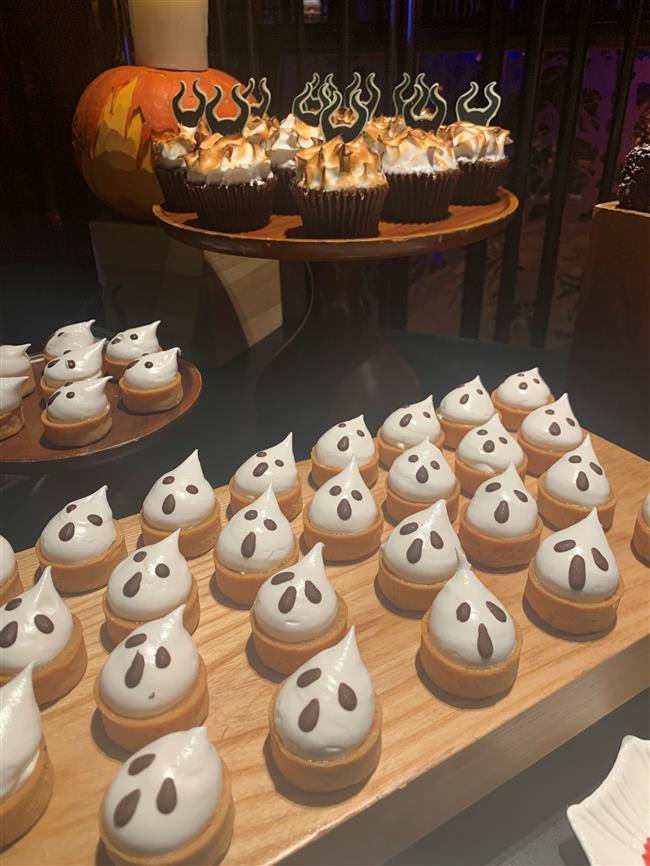 Magical banquet served at Disney restaurant