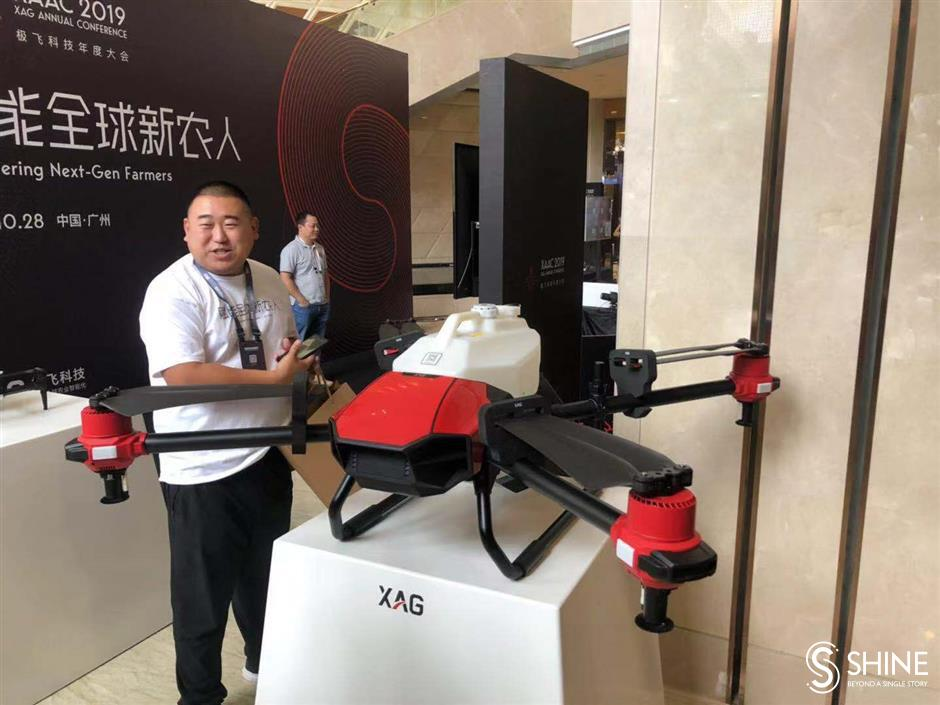 Drones to accelerate smart farming