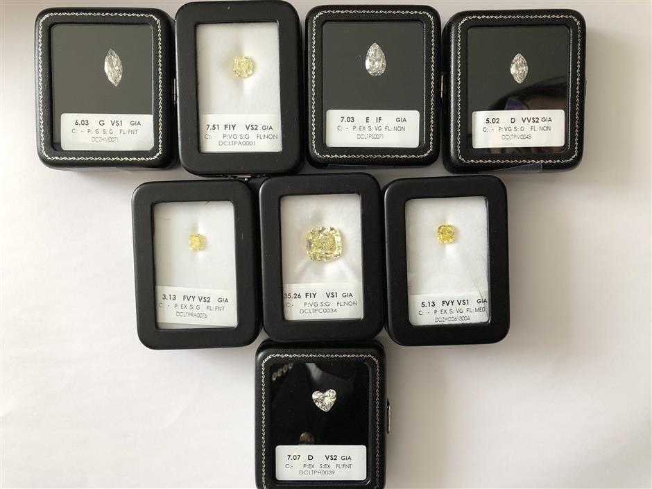 Diamonds add sparkle to import expo