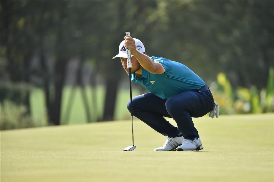 Li leads Shanghai WGC to fuel home hopes