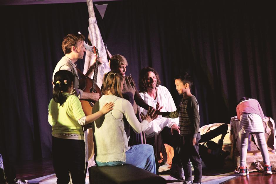 Immersive theater for children with autism